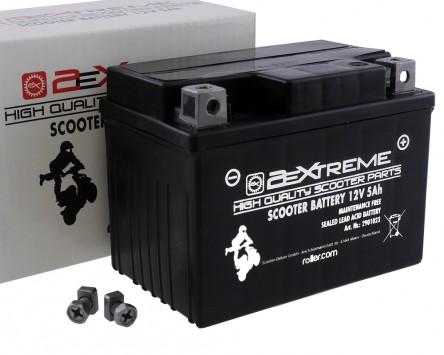 Batterie 12V 5Ah 2EXTREME (wartungsfrei) (Baugleich YB4LB)