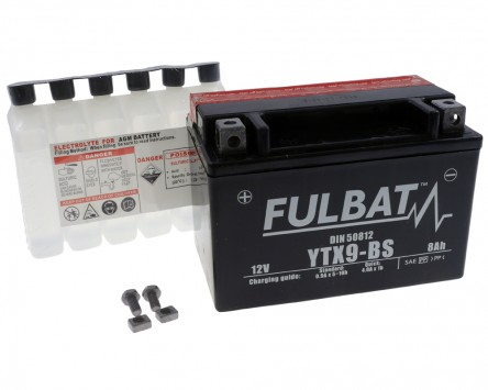 batterie fulbat ytx9 bs 12v 8ah ktm duke 2 adventure kymco. Black Bedroom Furniture Sets. Home Design Ideas