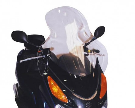 windschild givi hoch suzuki burgman 125 uh125 06. Black Bedroom Furniture Sets. Home Design Ideas