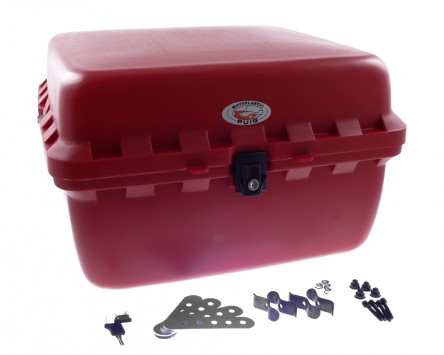 topcase pizzabox roller 50x50x31 cm in rot. Black Bedroom Furniture Sets. Home Design Ideas