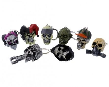 Schlüsselanhänger versch. Skull Motive