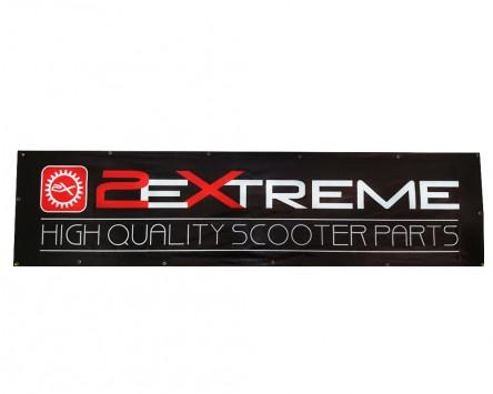 Banner 2500x620mm 2EXTREME schwarz