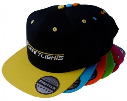 Snapback STREETLIGHTS gestickt in verschiedenen Farben