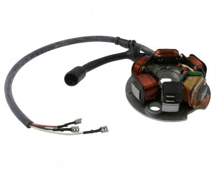 Lichtmaschine Vespa PK 50-125 6 Kabel , 5 Spulen original