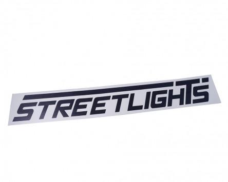 Autoaufkleber STREETLIGHTS schwarz