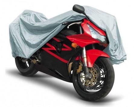 abdeckplane indoor f r innen gr e m grau motorrad roller moped. Black Bedroom Furniture Sets. Home Design Ideas