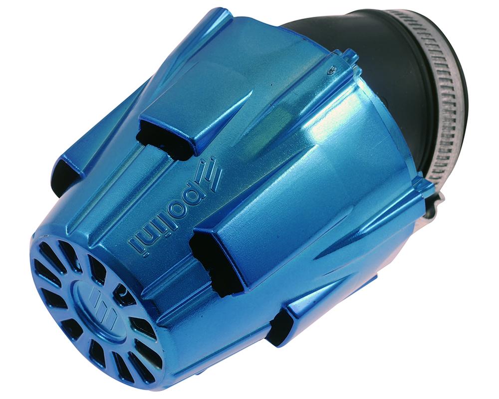 D = 39/mm Largo Filtro de Aire de Carreras Polini 30//° curvados