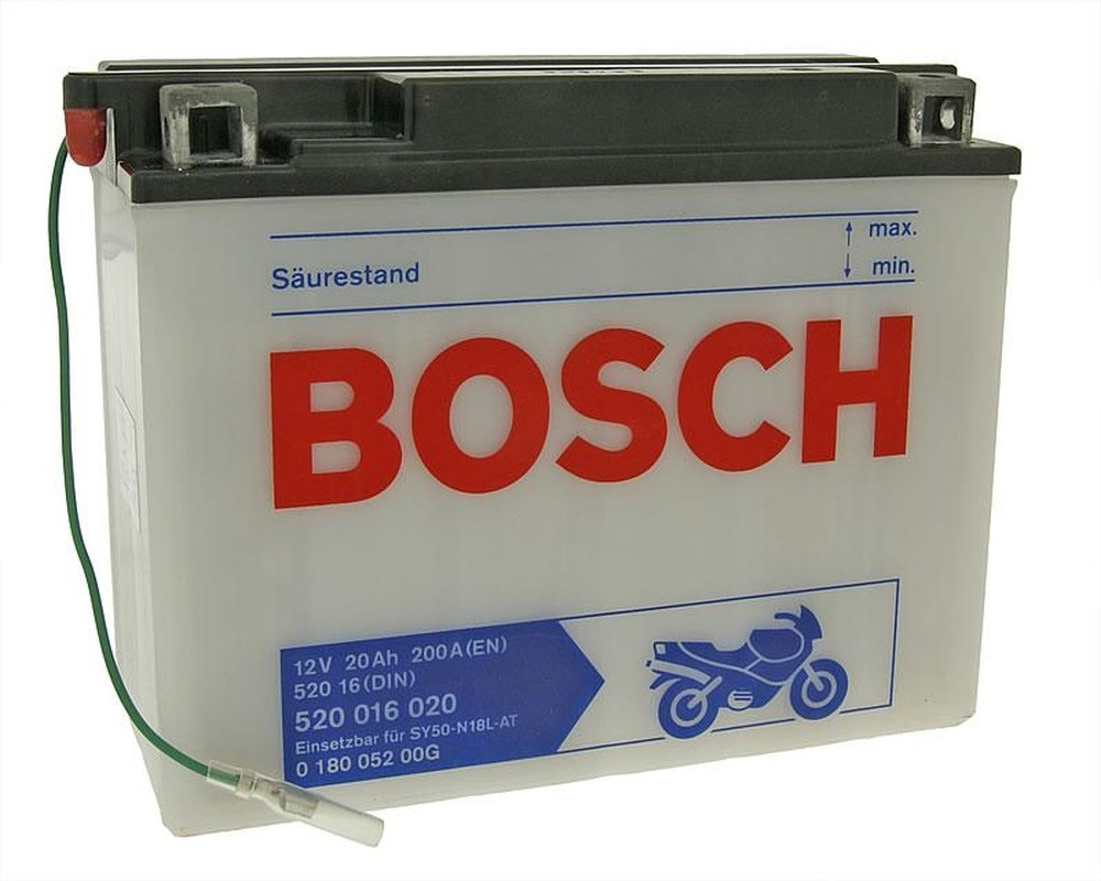 Batterie 12V 20Ah BOSCH SY50-N18L-AT
