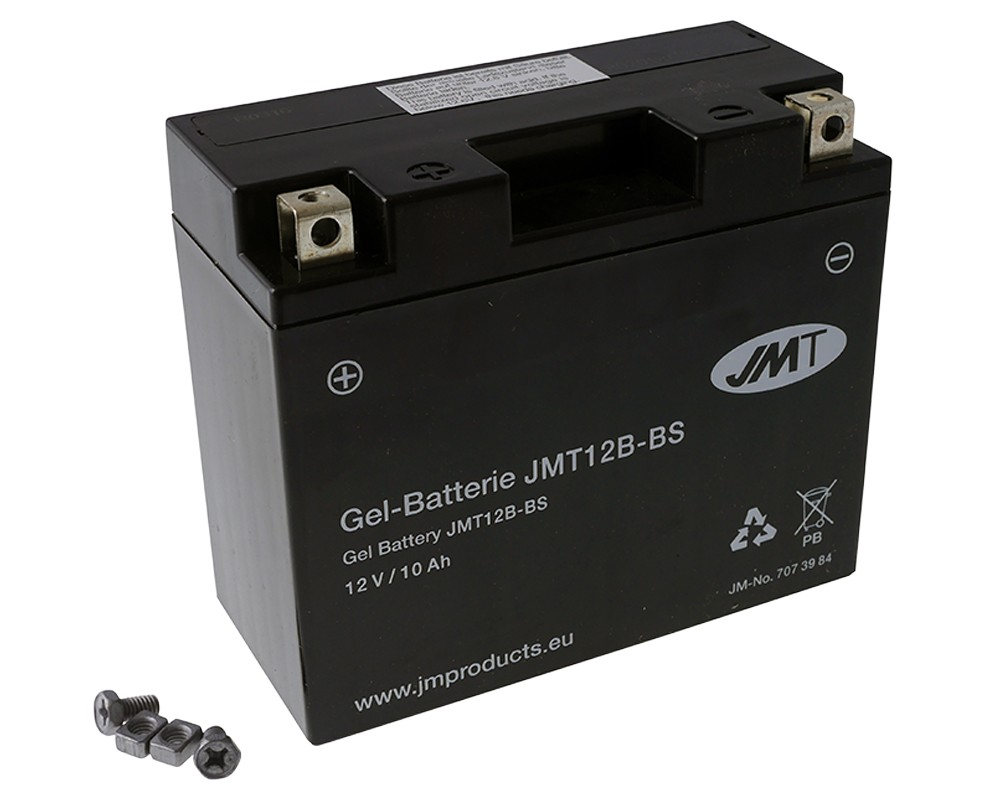 Batterie 12V 10Ah JMT Gel YT12B-BS