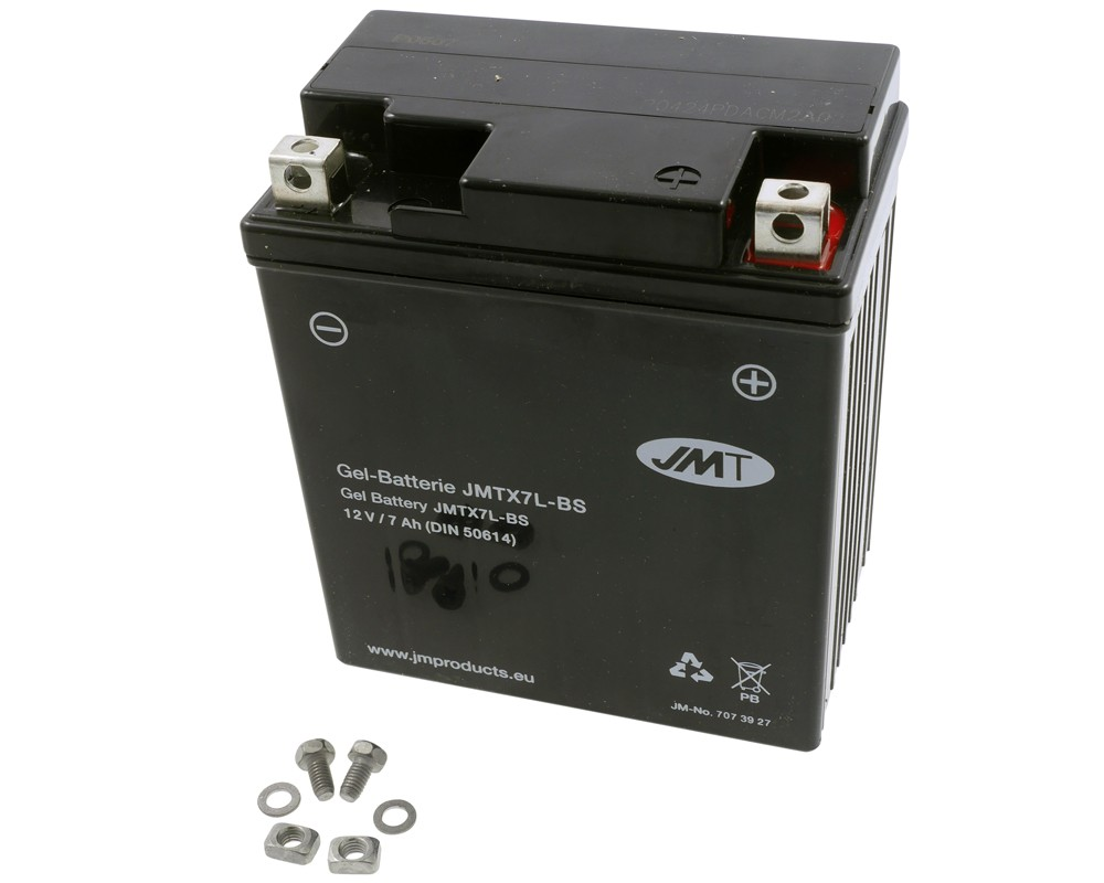 Batterie 12V 7Ah JMT Gel YTX7L-BS