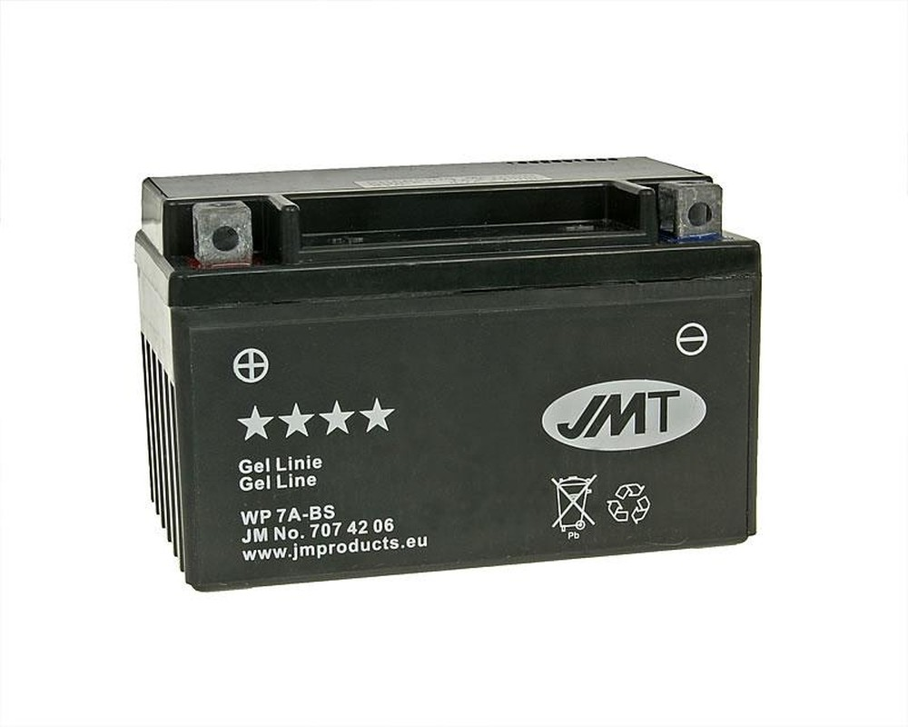 Batterie 12V 7Ah JMT Gel YTX7A-BS