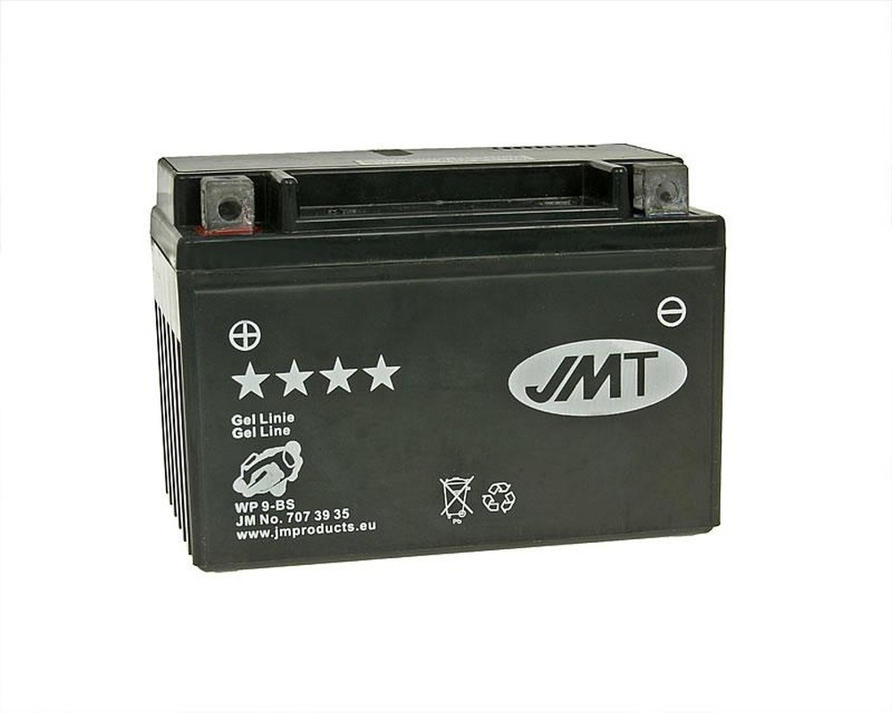 Batterie 12V 9Ah JMT Gel YTX9-BS