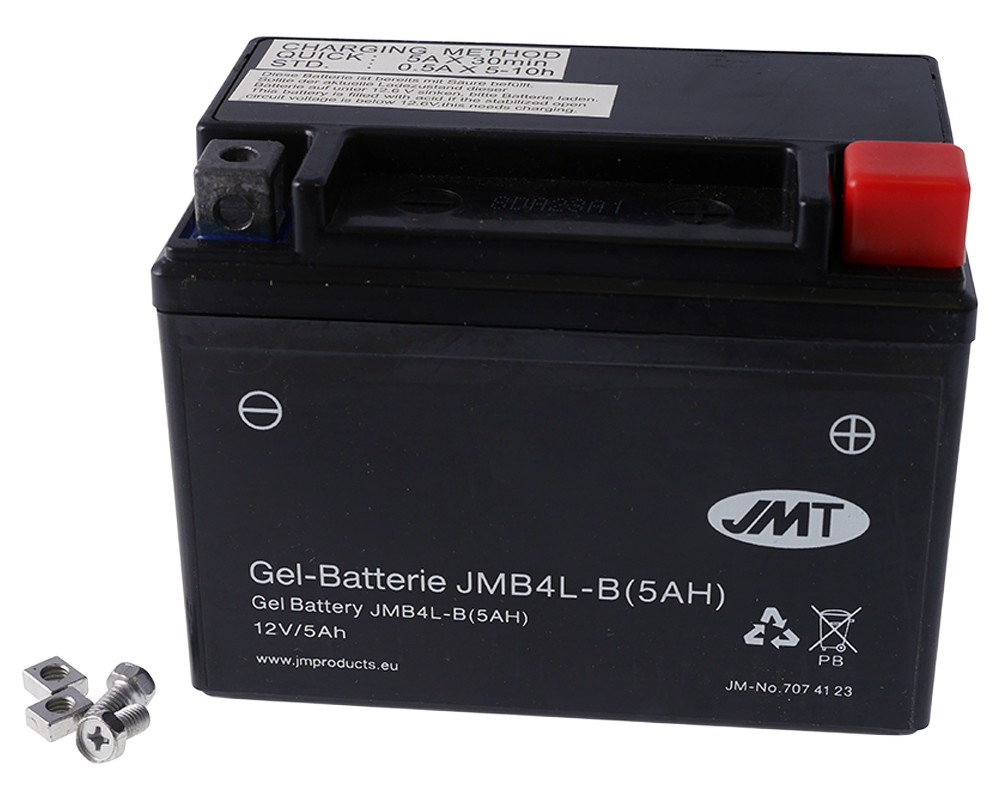 Batterie 12V 5Ah JMT Gel High Power JMB4L-B / YB4L-B