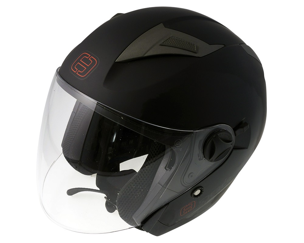 Helm SPEED Jet City II uni schwarz matt